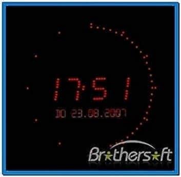 PC Digital Watch Screensaver