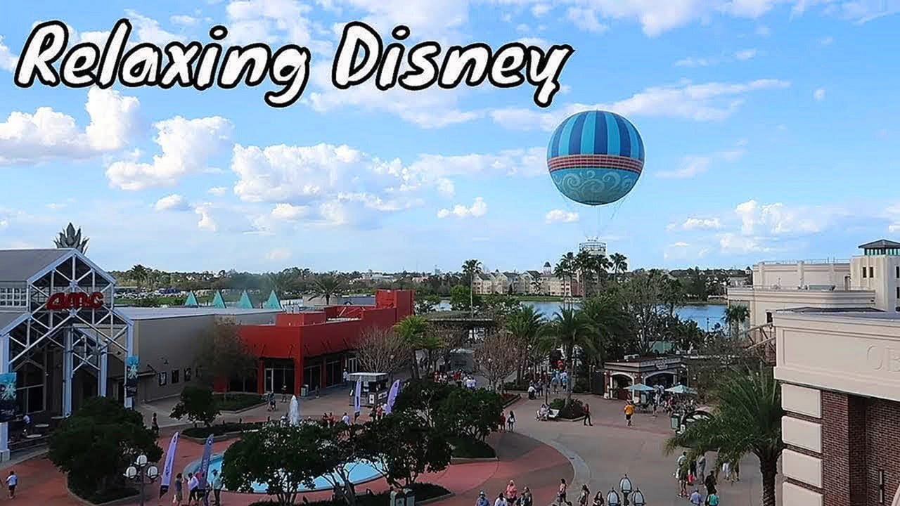 Disney Springs Relaxing Video Screensaver - Walt Disney World