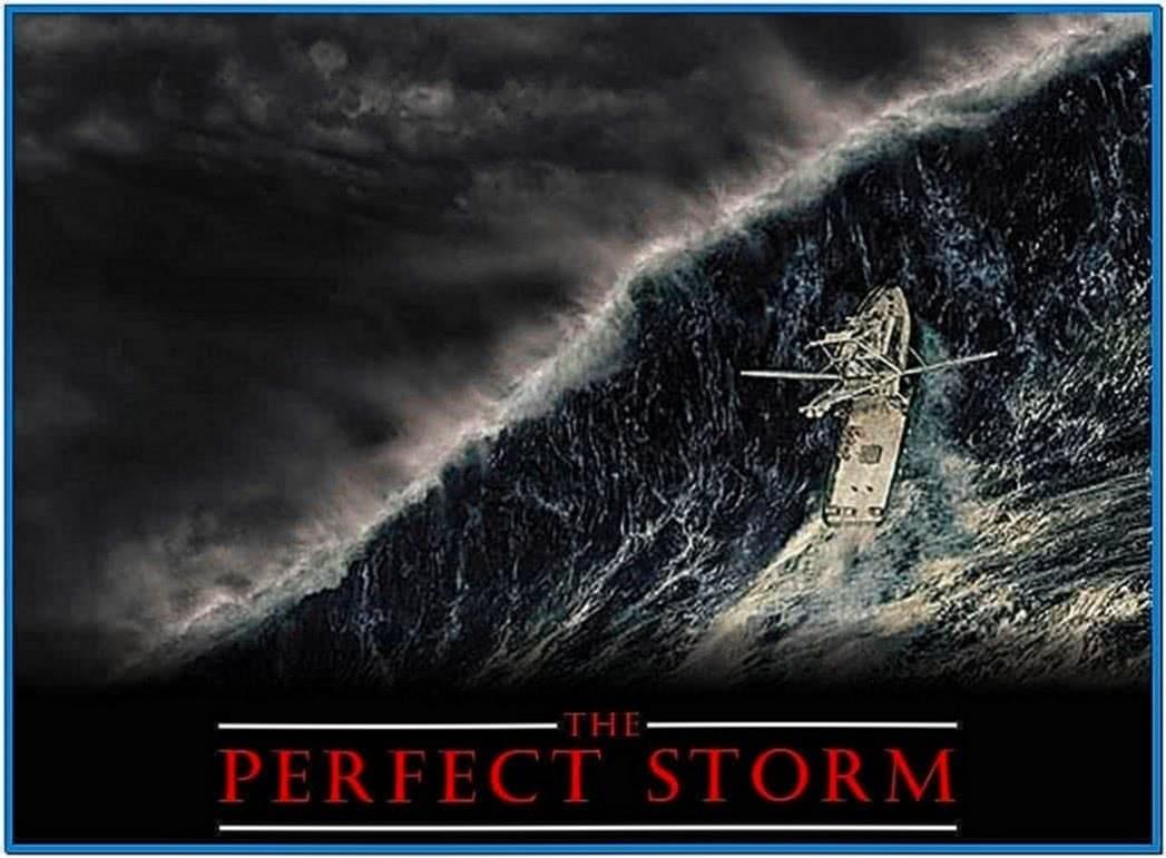 Perfect Storm Screensaver