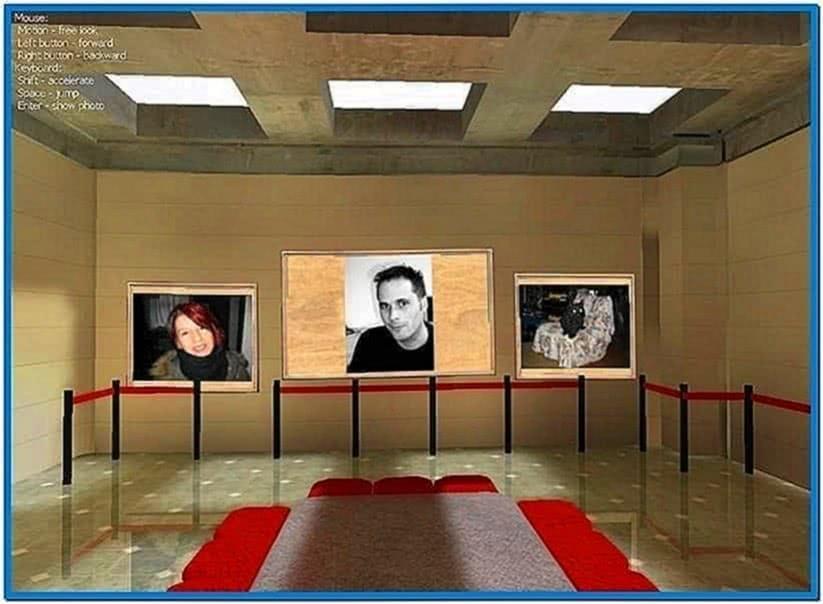 Photo 3D Album and Photo 3D Screensaver
