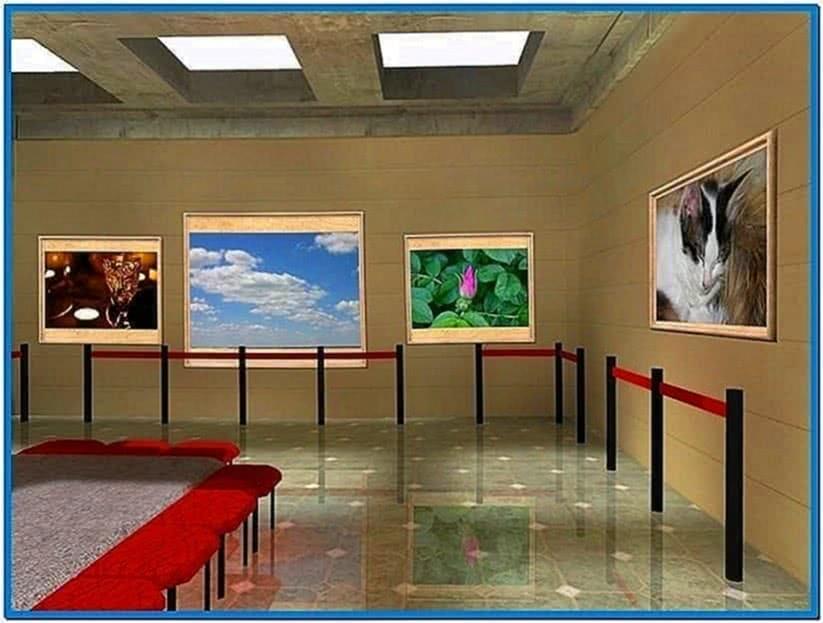 Photo 3D Screensaver Galleries