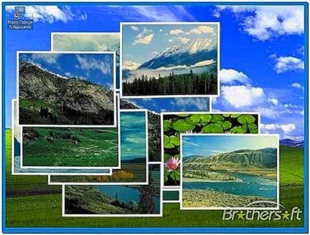 Photo Collage Screensaver Windows 8