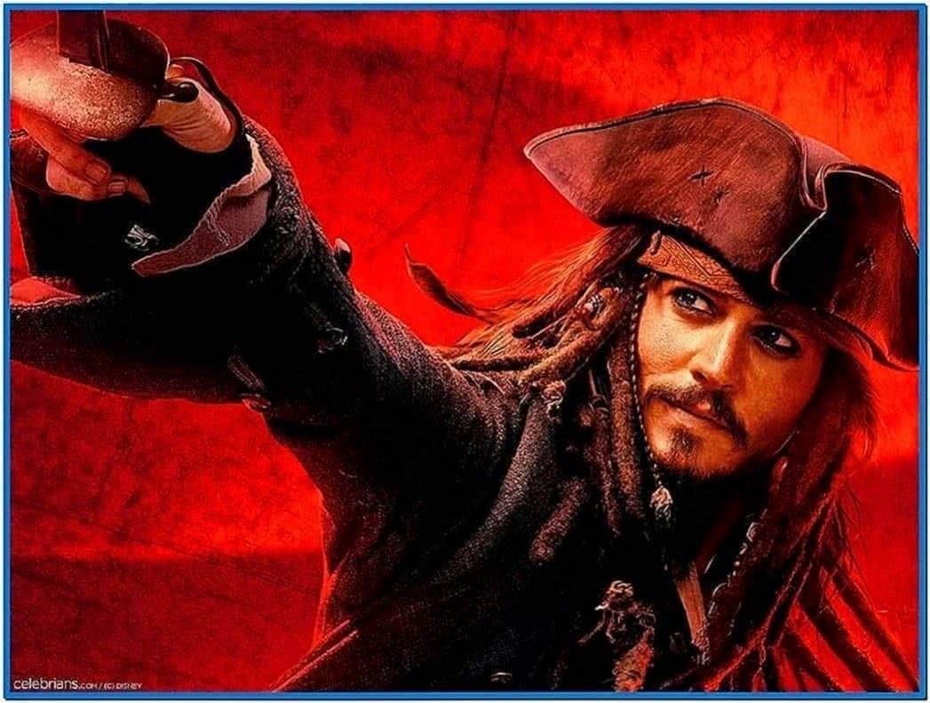 Pirates of The Caribbean 3 Screensaver