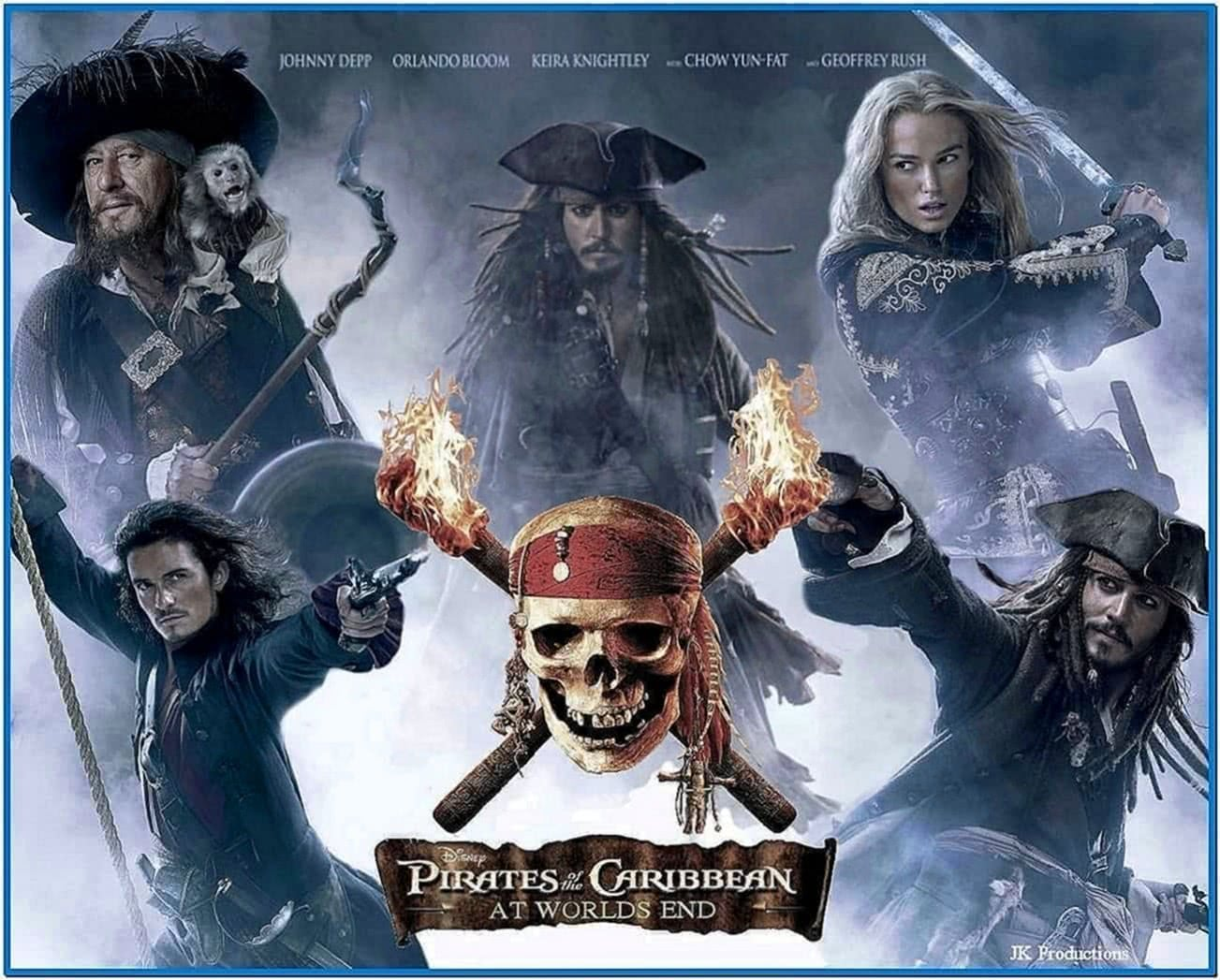 Pirates of The Caribbean 3 Screensaver