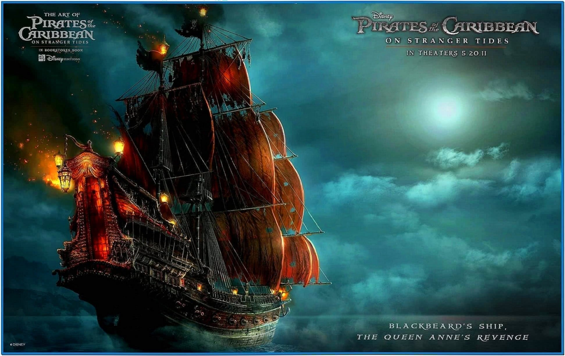 Pirates of The Caribbean 4 Screensaver