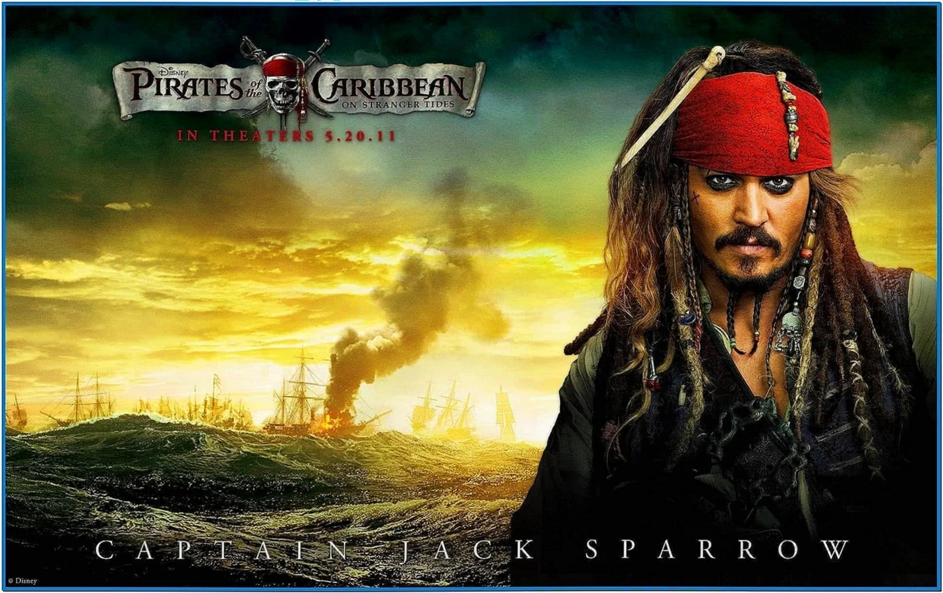Pirates of The Caribbean 4 Screensaver