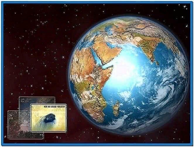 Planet Earth 3D Screensaver 1.0