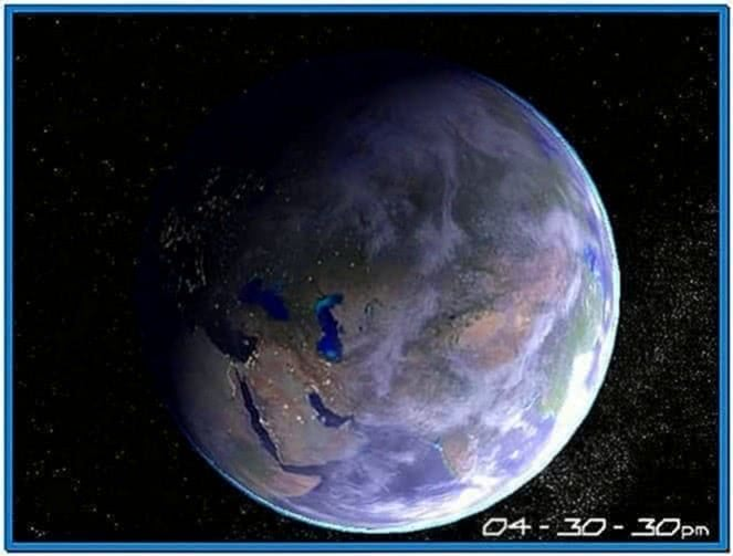 Planet Earth 3D Screensaver 1.0