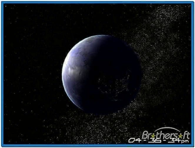 Planet Earth 3D Screensaver 1.1