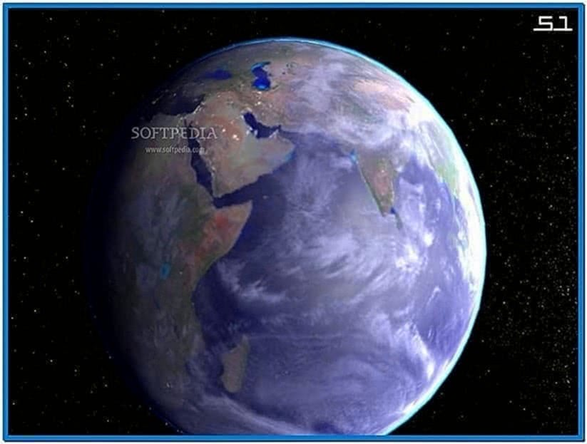 Planet Earth 3D Screensaver