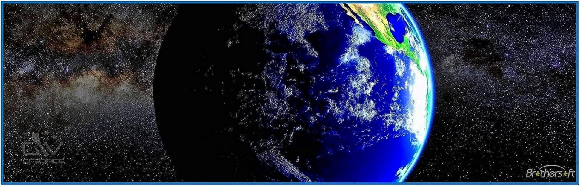 Planet Earth Screensaver 2.1