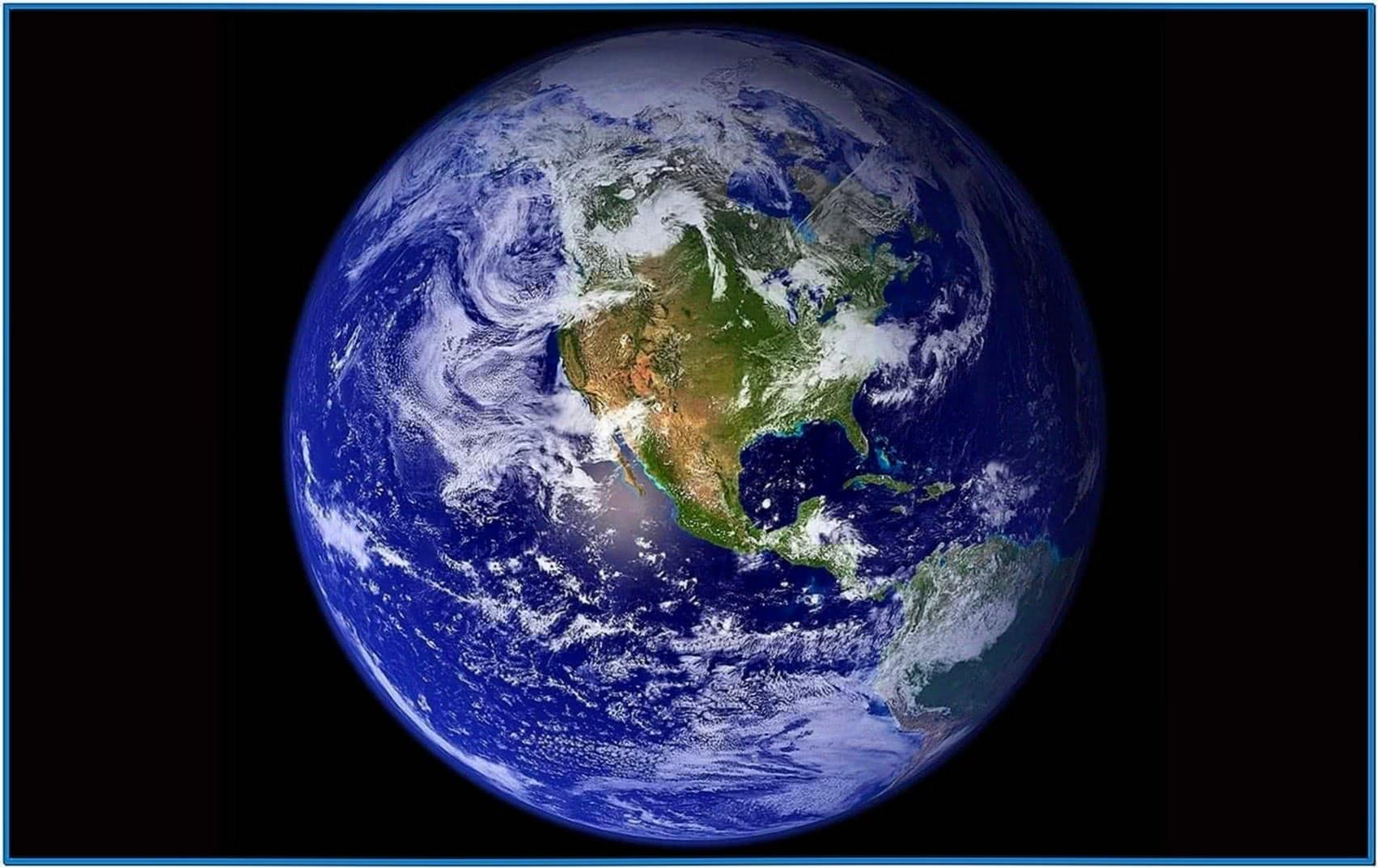 Planet Earth Screensaver Mac