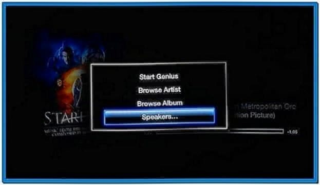 Play Music and Watch Screensaver on Apple TV