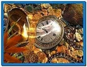 Pocket Watch in Water Screensaver