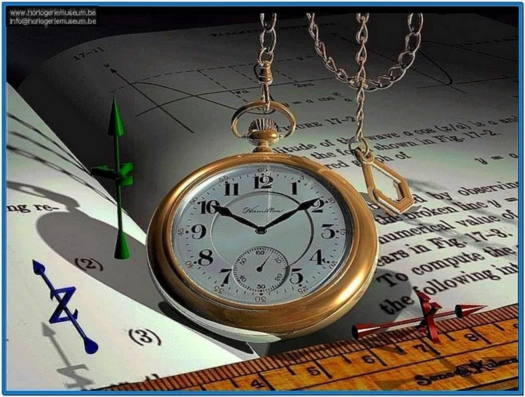 Pocket Watch Screensaver