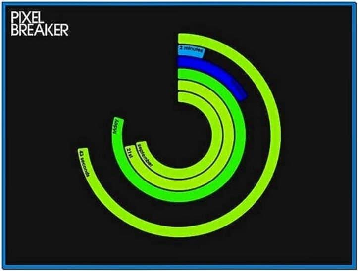 Polar Clock Screensaver Windows 8