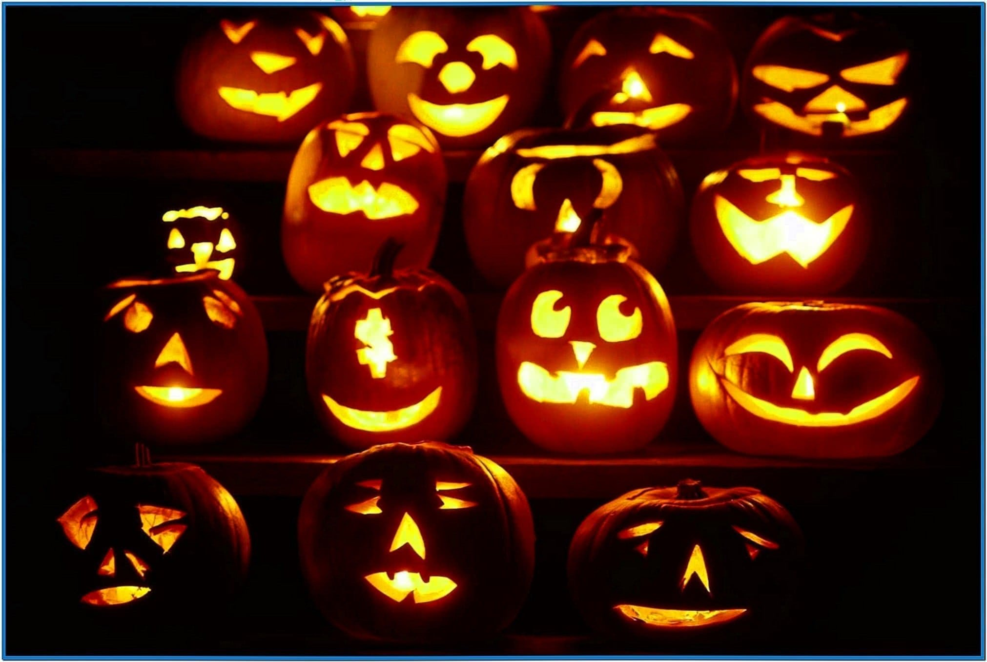 Pumpkin screensaver