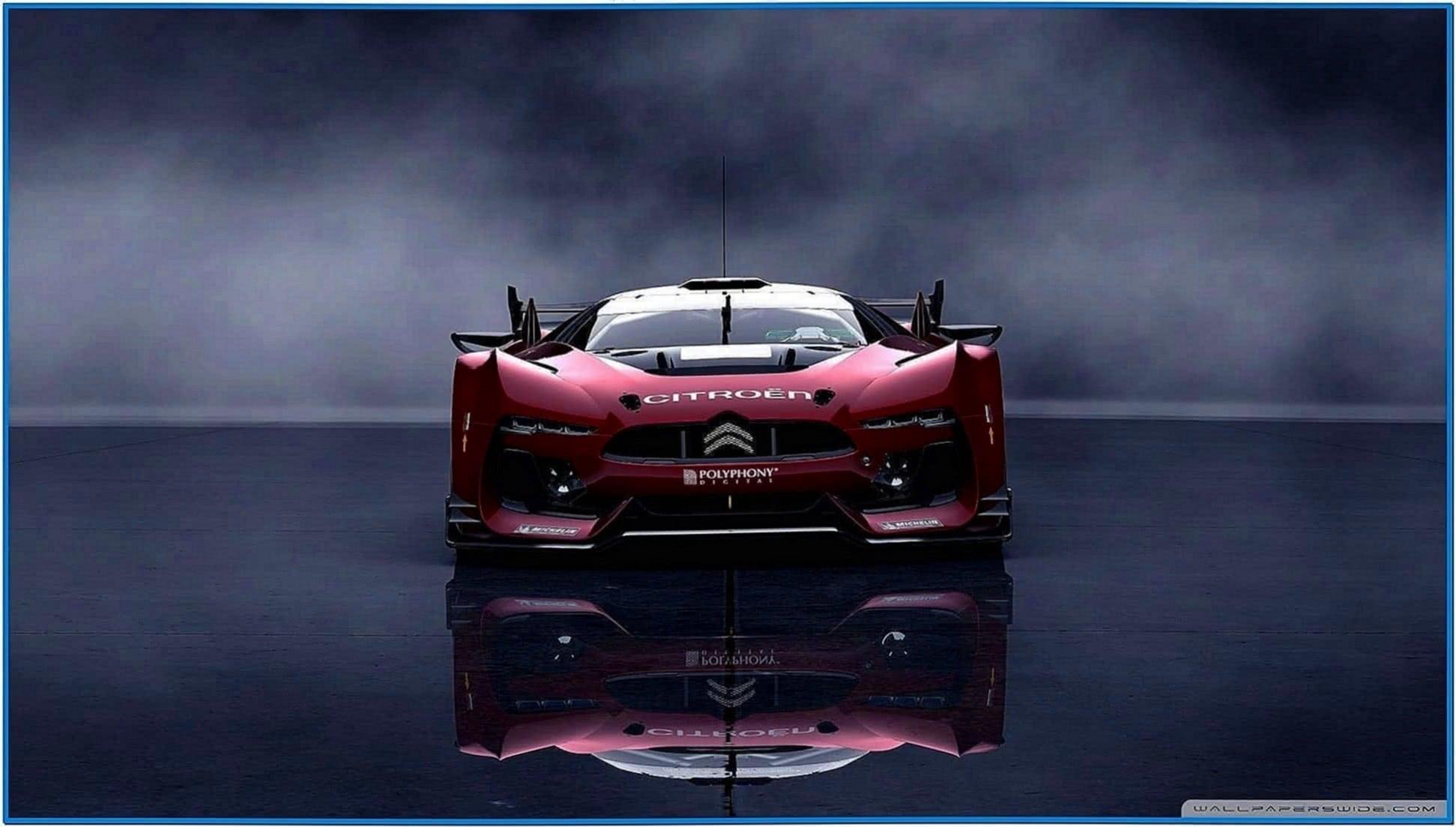 Race car screensavers wallpaper