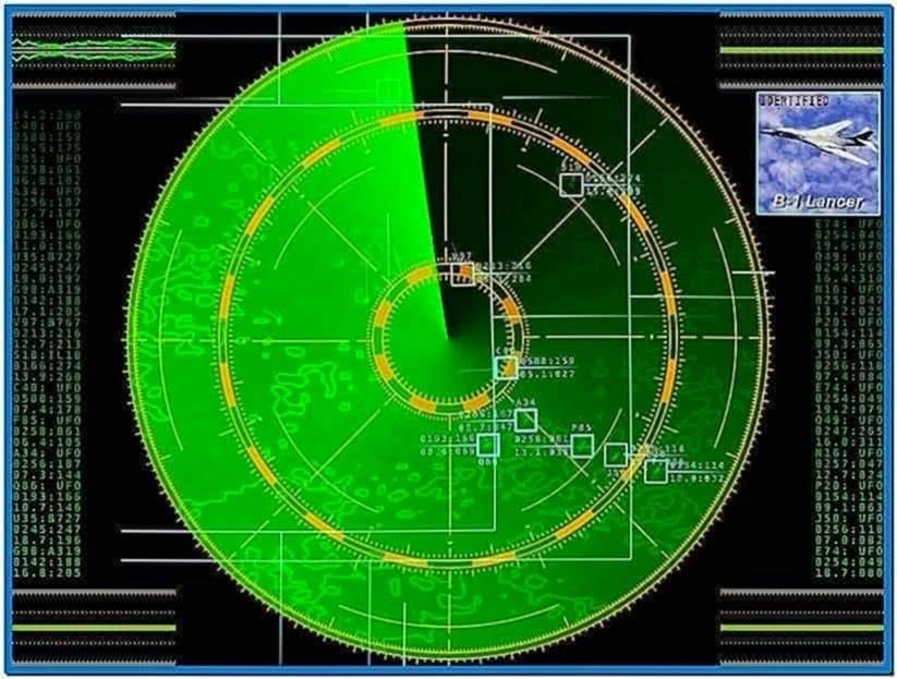 Radar Screensaver 1.71