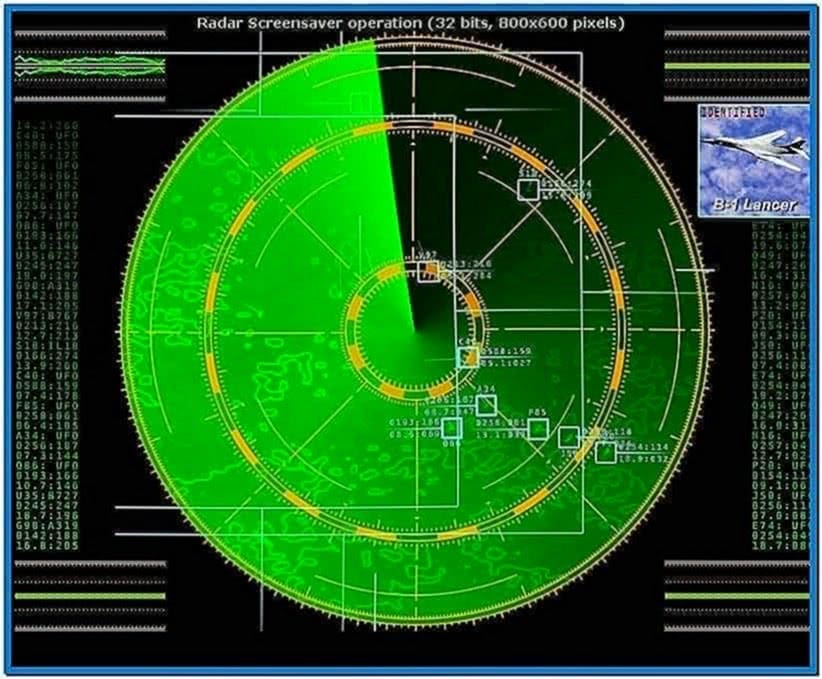 Radar Screensaver Full
