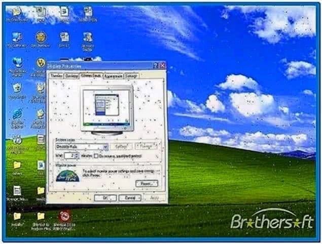Rainfall Screensaver Windows 7