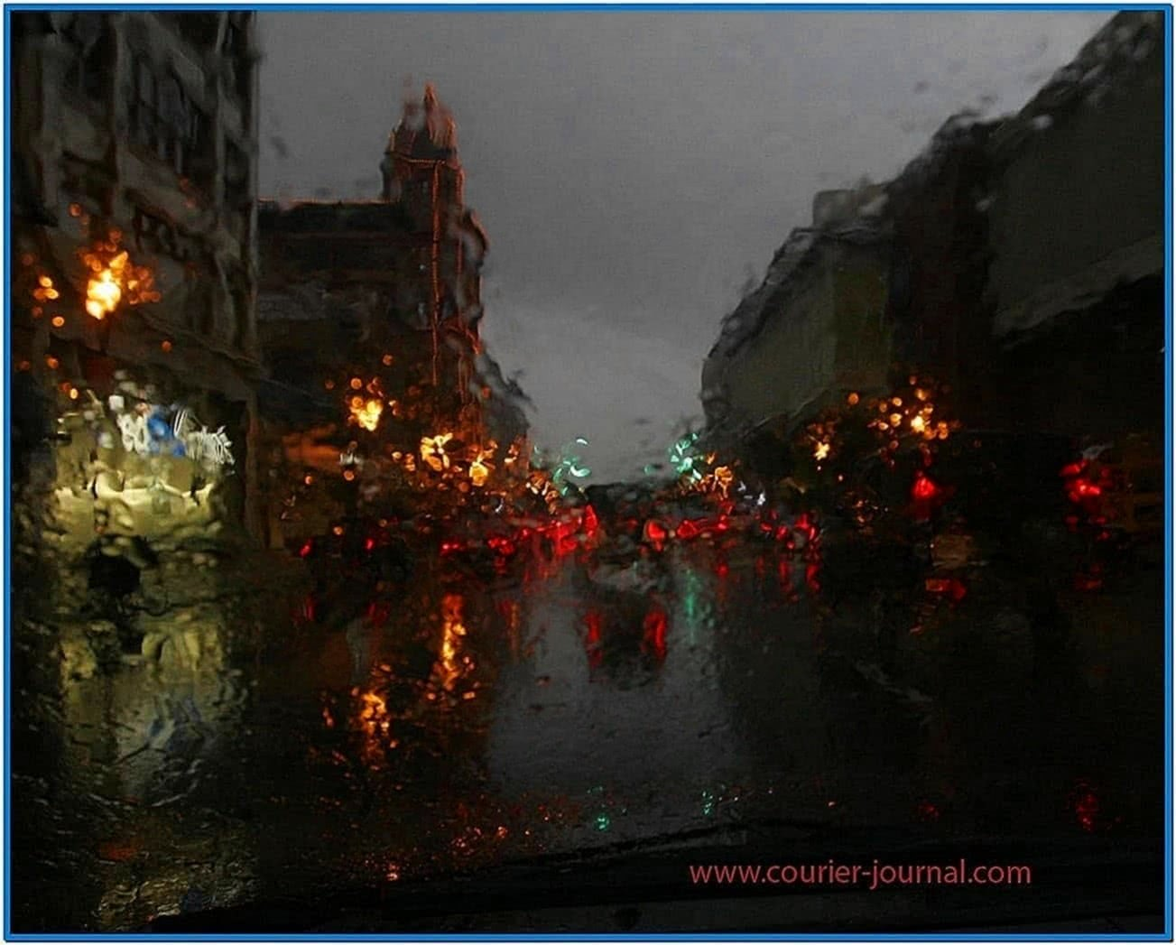 Rainy Day Screensaver Download Free