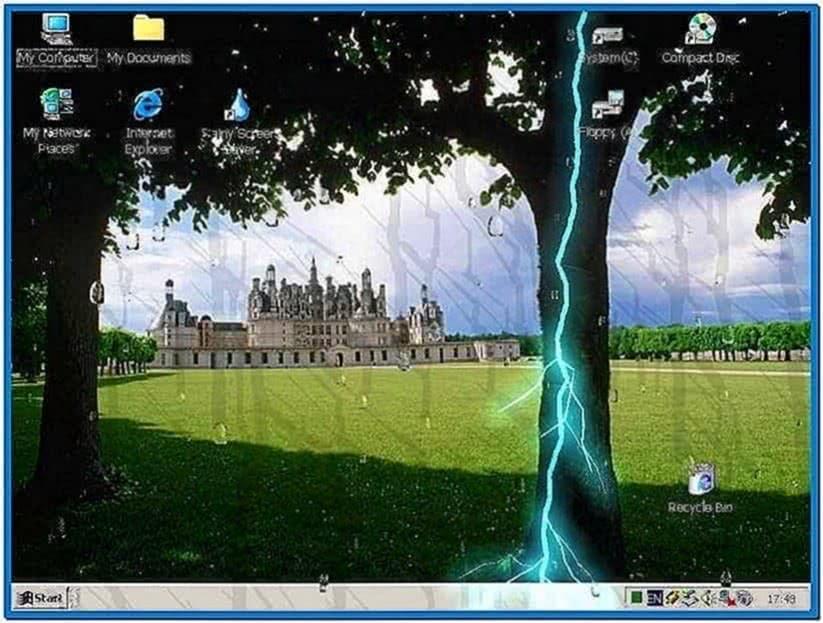 Rainy Screensaver Unlock Code