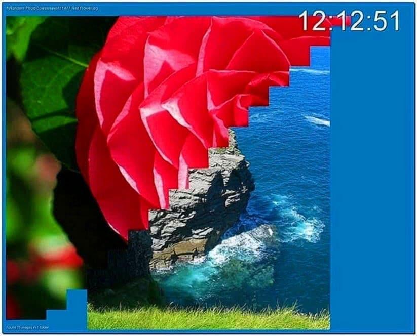 Random Photo Slide Screensaver