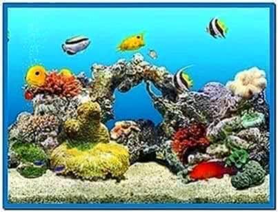 Real 3D aquarium screensaver