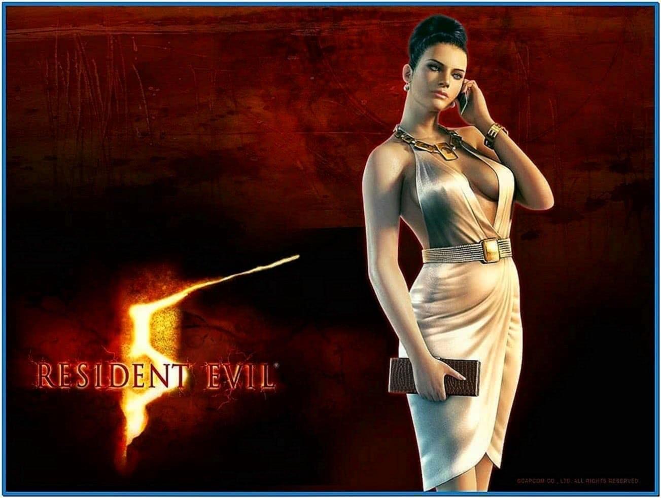 Resident Evil 5 Screensaver Download Free