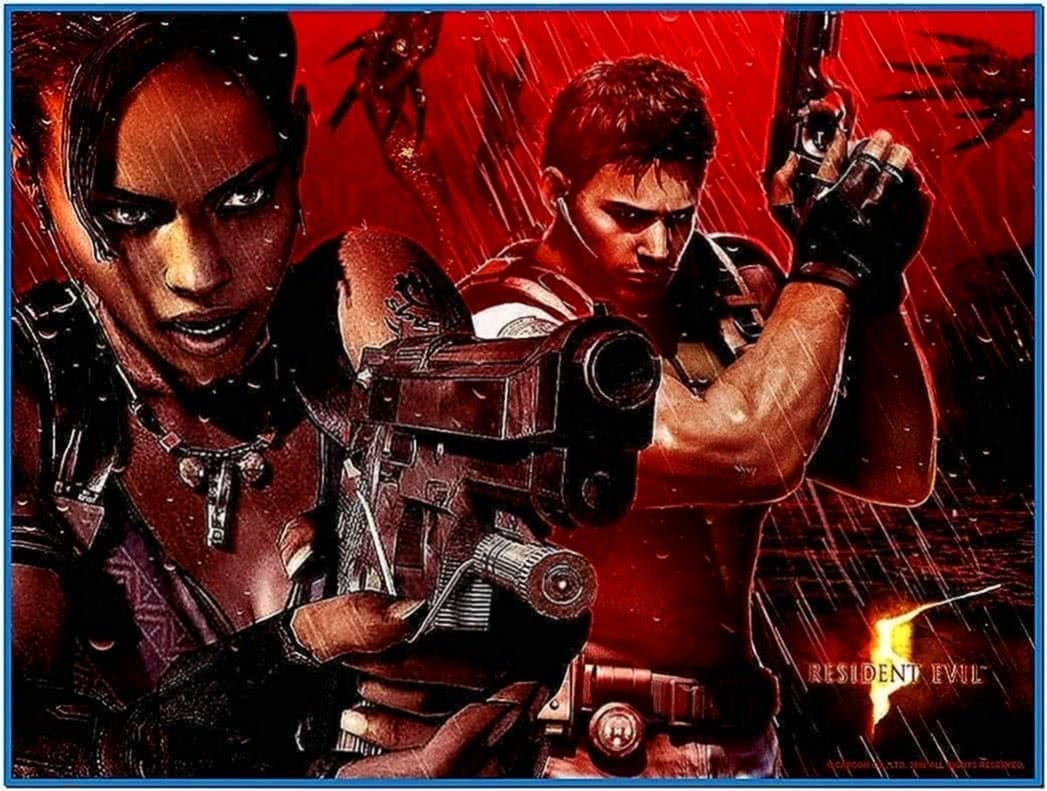 Resident Evil 5 Screensaver