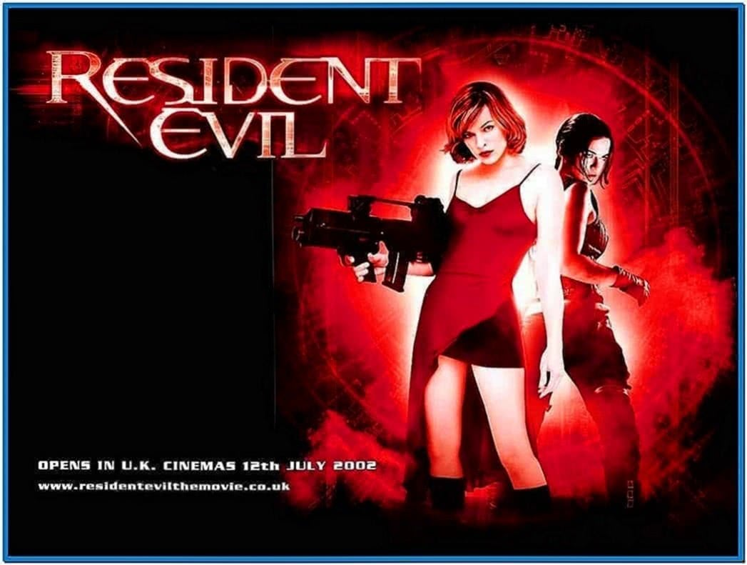 resident evil movie screensaver download free