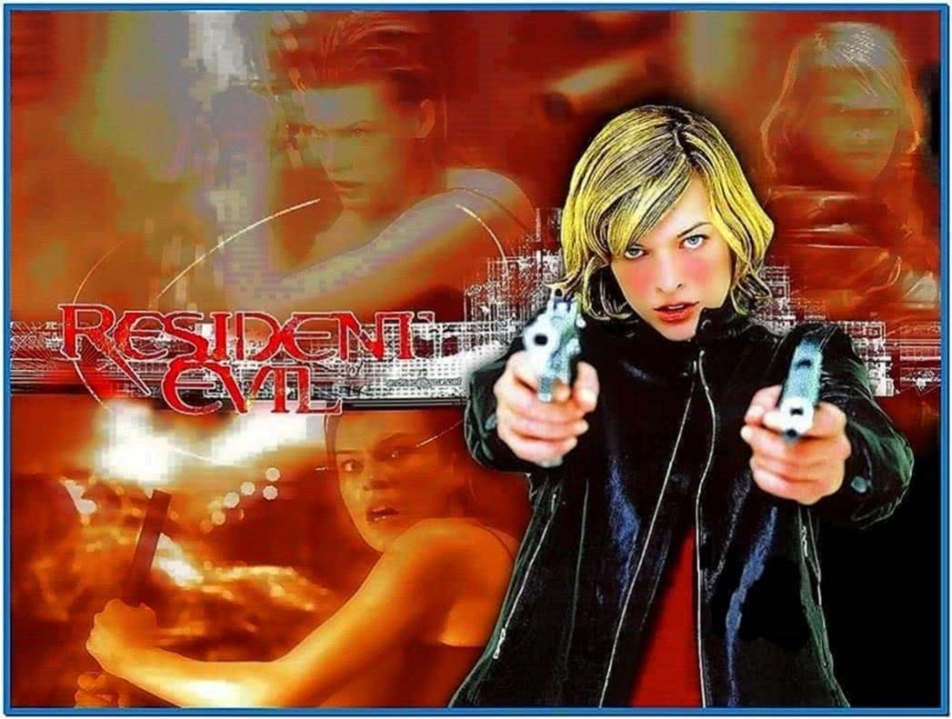 Resident Evil Movie Screensaver
