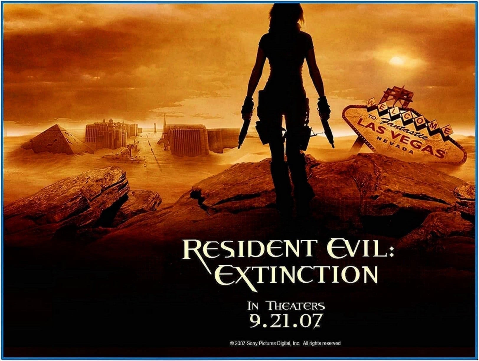 Resident Evil Movie Screensaver