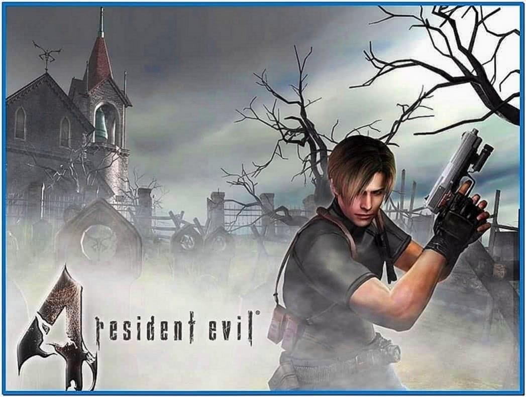 Resident evil screensaver Windows 7
