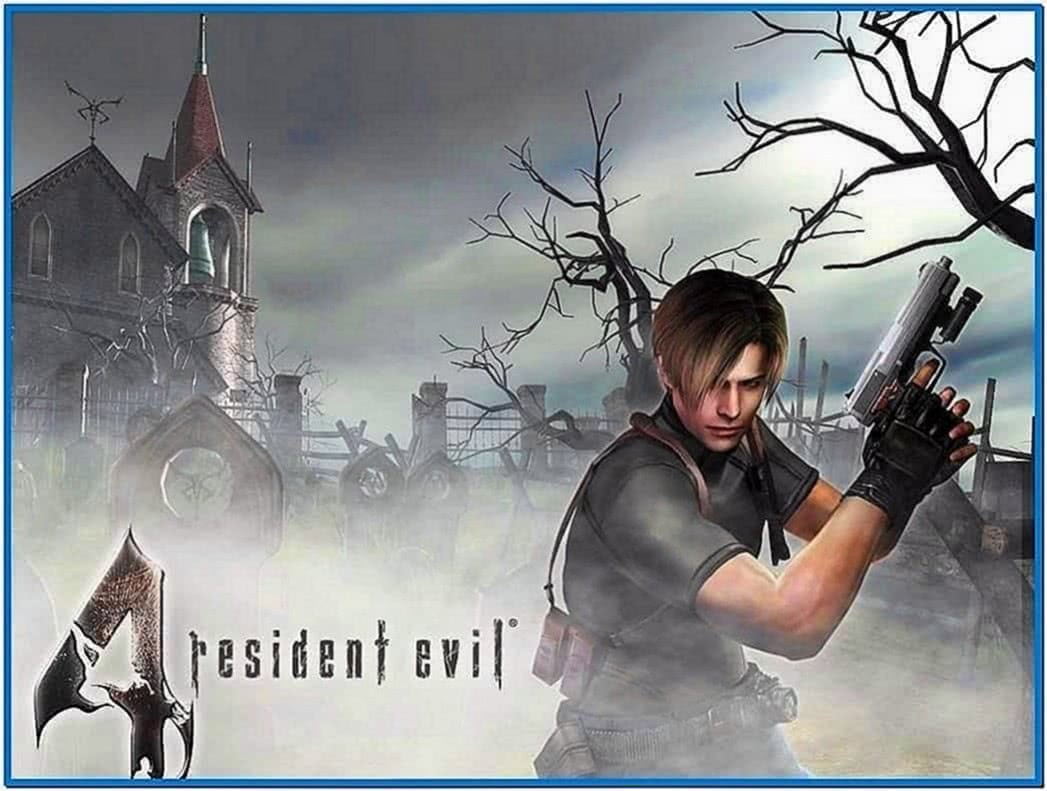 Resident evil screensaver Windows xp