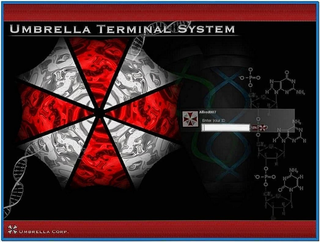 Resident evil screensaver Windows xp - Download for free