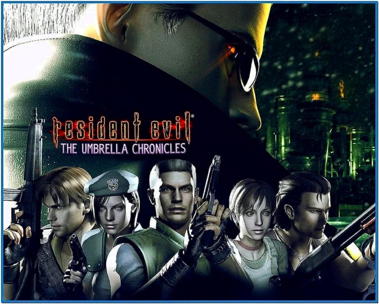resident evil umbrella chronicles screensaver download free