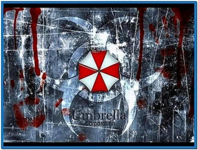 Resident Evil Umbrella Corp Screensaver