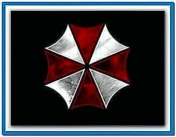 Resident Evil Umbrella Logo Screensaver