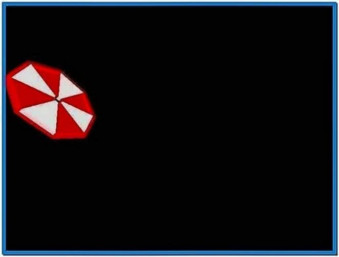 Resident Evil Umbrella Screensaver