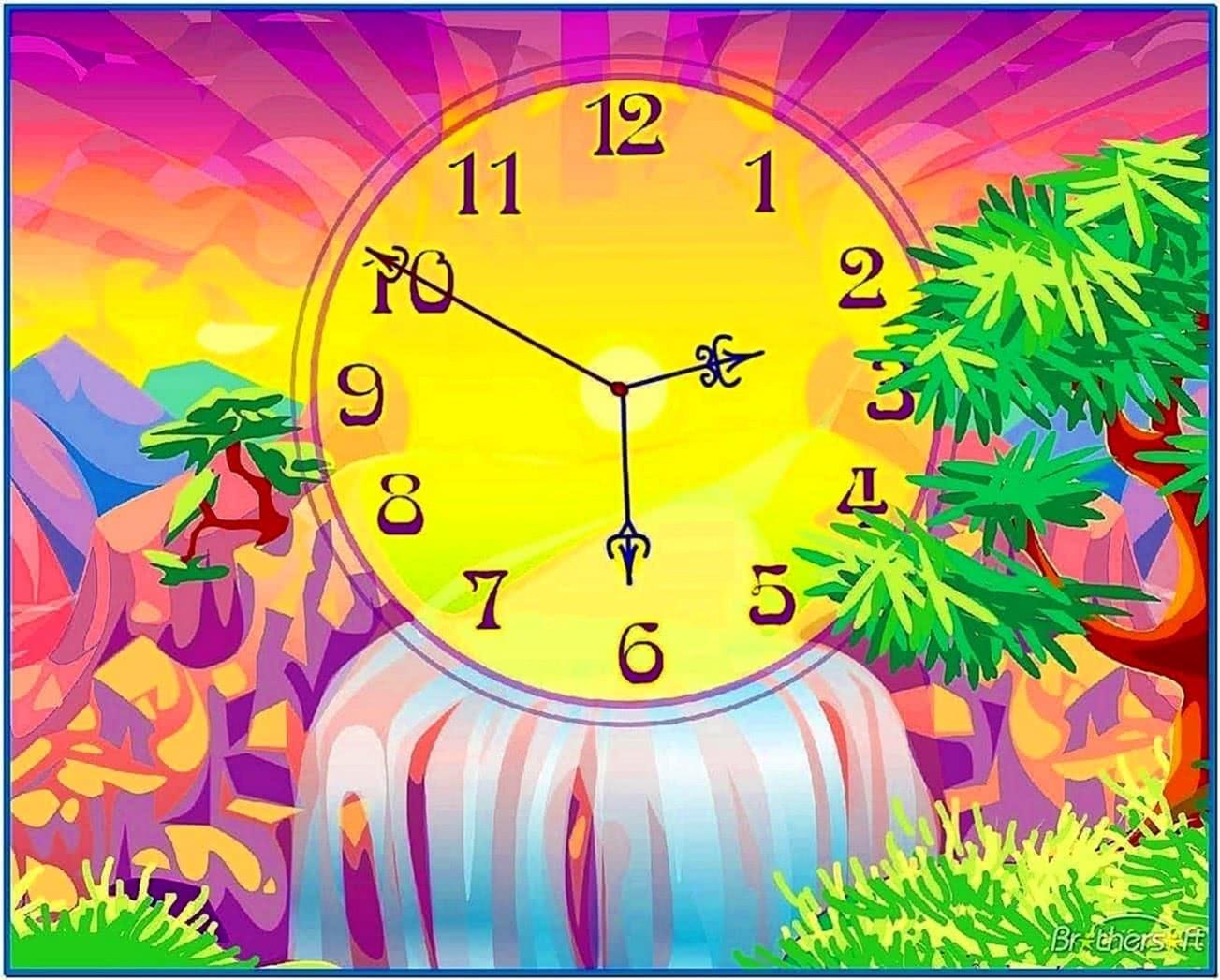 Rolex Screensaver Clock Mac
