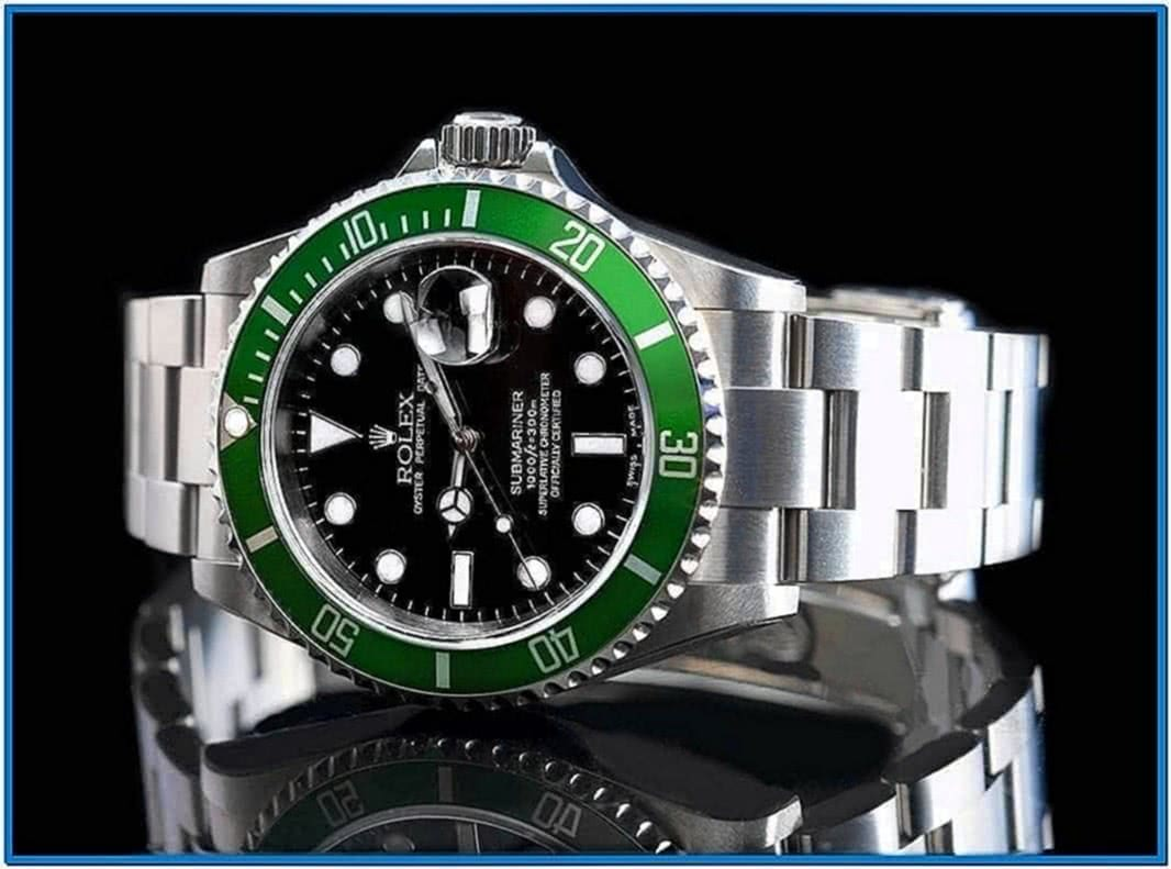 Rolex Watch Screensaver