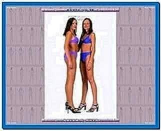 Russian girls 3D screensaver 1.1