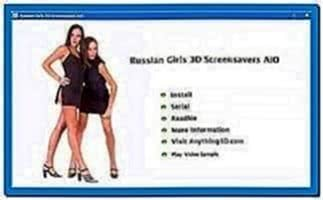 Russian Girls 3D Screensaver