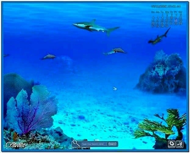 Saltwater fish tank screensaver download free for Fish tank screen