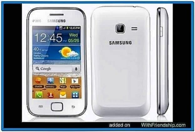 Samsung Galaxy Ace Duos Screensaver