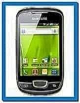 Samsung galaxy mini s5570 screensaver