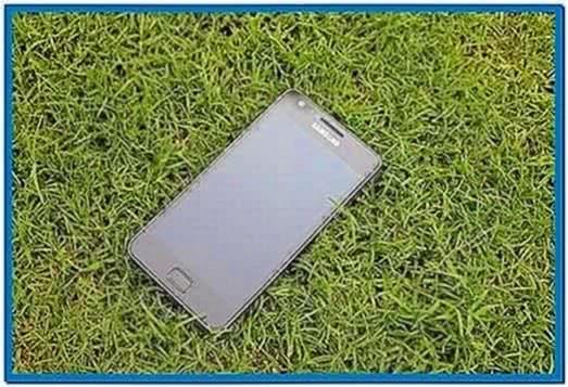 Samsung Galaxy S2 Screensaver