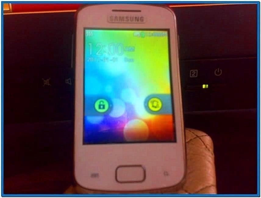 Samsung galaxy y screensaver